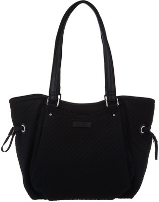 Vera Bradley Iconic Microfiber Glenna Satchel Handbag