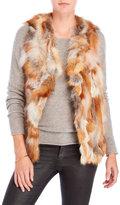 Adrienne Landau Real Fox Fur Vest