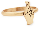 Madewell Fingers Crossed Ring