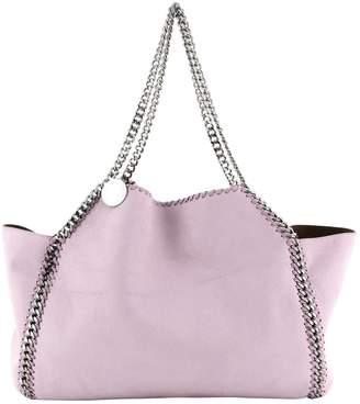 Stella McCartney Stella Mc Cartney Falabella Purple Leather Handbags