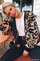 Forever 21 Cheetah Print Faux Fur Jacket