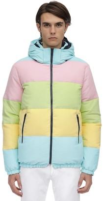 Multicolor Reversible Down Jacket