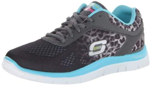 Skechers Flex Appeal Serengeti, Women's Trainers,2 UK/35 EU