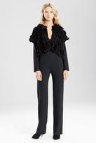 Josie Natori Double Knit Jersey 3D Bolero