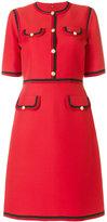 Gucci Web trim shift dress