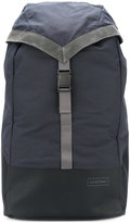 Eastpak suede trim backpack