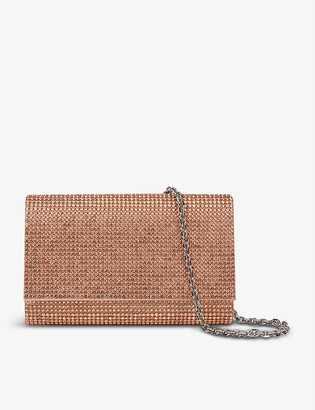Judith Leiber Fizzoni crystal clutch bag