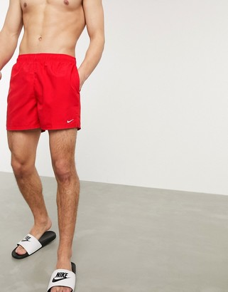 Nike Swimming 5inch Volley short in red
