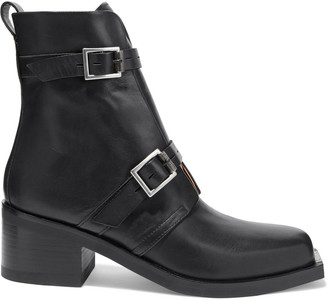 Rag & Bone Fallon Buckled Leather Ankle Boots