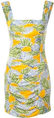 Bec & Bridge Palm Paradise mini dress
