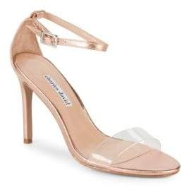 Charles David Cristal Classic Stiletto Heel Sandals