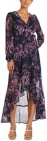 Thumbnail for your product : Nightway Surplice High-Low Gown