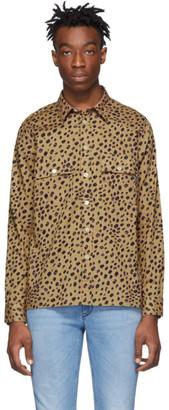 Paul Smith Tan Cheetah Shirt