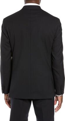 Nordstrom Men's Shop Trim Fit Stretch Wool Tuxedo Jacket