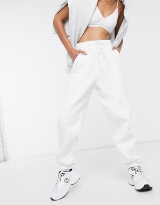 Asos Design DESIGN oversized jogger-White