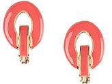 Anne Klein Link Drop Clip-On Earrings