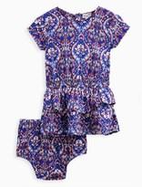 Splendid Baby Girl Printed Drop Waist Dress