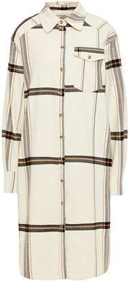 Baum und Pferdgarten Agatha Checked Twill Shirt Dress