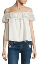 Rebecca Minkoff Celestine Off-the-Shoulder Top