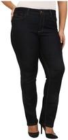 NYDJ Plus Size - Plus Size Marilyn Straight in Dark Enzyme Women's Jeans