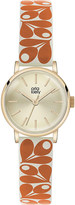 Orla Kiely Patricia leather watch