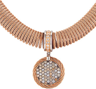 Alor 18K Rose Gold 0.27 Ct. Tw. Diamond Necklace