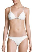 Zimmermann Zephyr Two-Piece Bonded Tri Bikini Top & Bottom