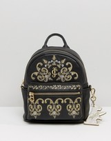Juicy Couture Solstice Embroidered Mini Backpack