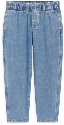 Arket Tapered Denim Trousers