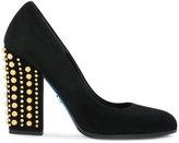 Loriblu studded heel pumps