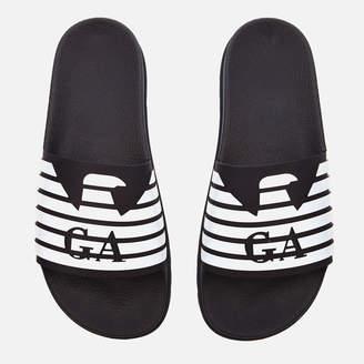 Emporio Armani Men's Zup Slide Sandals - Blue/Night/White