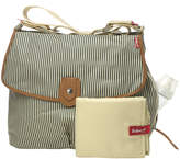 Babymel Satchel Stripe Diaper Bag