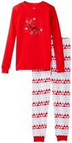 Petit Lem Reindeer PJ Set (Little Kids & Big Kids)