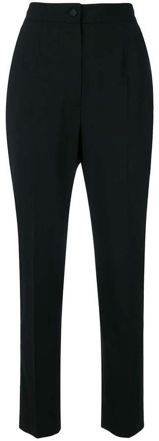 Dolce & Gabbana high waisted cropped trousers