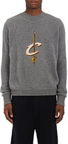 The Elder Statesman X NBA Men's Cavaliers Logo Cashmere Sweater