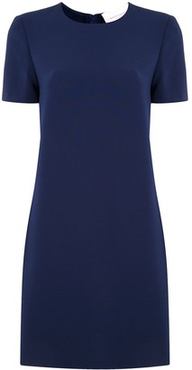 Carolina Herrera Short-Sleeve Dress