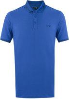 Armani Jeans Cotton/Spandex/Elastane Polo Shirts, Blue