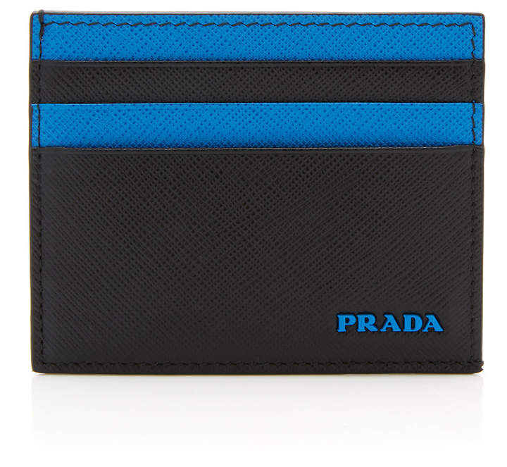 9c74a08365eb Prada Blue Men's Wallets - ShopStyle