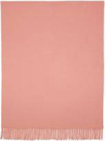 Acne Studios Pink Canada Wide Scarf