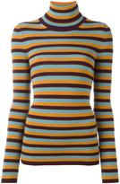 I'M Isola Marras striped turtleneck jumper
