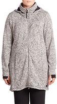 Calvin Klein Performance Plus Hooded Knit Jacket