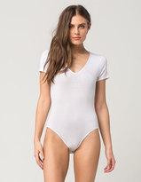 Full Tilt V-Neck Tee Womens Bodysuit