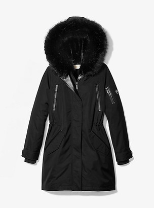 Michael Kors Fur-Lined Waterproof Parka