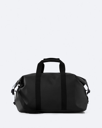 Rains Black Duffle Bags - Weekend Bag - Size One Size at The Iconic