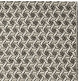 Williams-Sonoma Williams Sonoma Faux Natural Textural Cane Indoor/Outdoor Rug, Gray