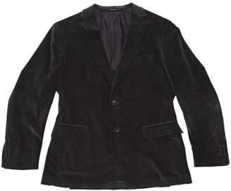 Ermenegildo Zegna Grey Velvet Jackets