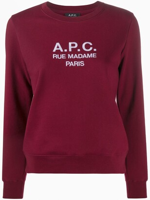 A.P.C. Rue Madame Paris sweatshirt