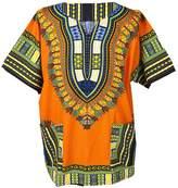 Lofbaz Traditional African Print Unisex Dashiki Size M
