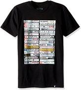 Famous Stars & Straps Mens Punk Tapes Short-Sleeve Shirt