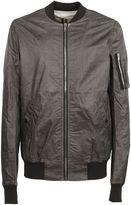 Drkshdw Black Zipped Bomber Jacket